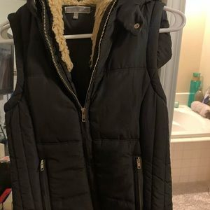 Jackets & Coats - Black vest